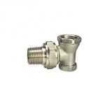 Клапан запорный радиаторный Ду 15 Remsan, угловой