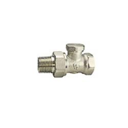Клапан запорный радиаторный Ду 15 Remsan, прямой