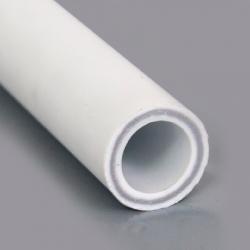 Труба PPR PN 25 белая  (армир. стекл.)  Дн- 63 х 10,5 мм Remsan
